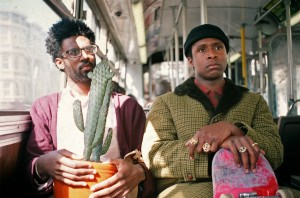 "Still image from ""The Last Black Man in San Francisco"" starring Jimmie Fails (right) and Pretice Sanders (left) and directed by Joe Talbot."